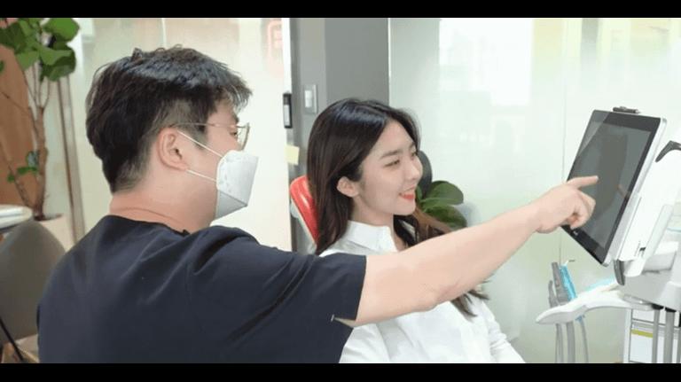 Dr. Jae-Min Lee in his practice