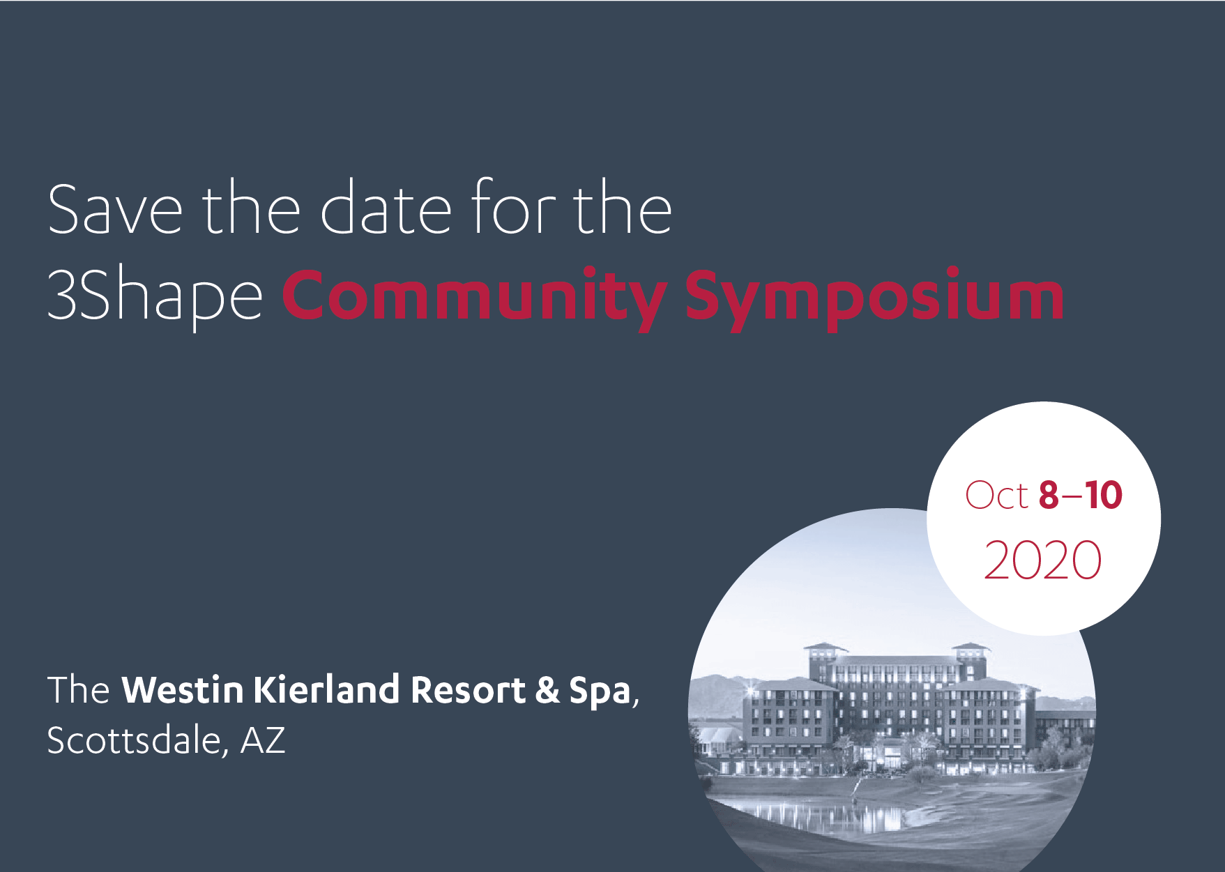 3shape Community 2020 Symposium