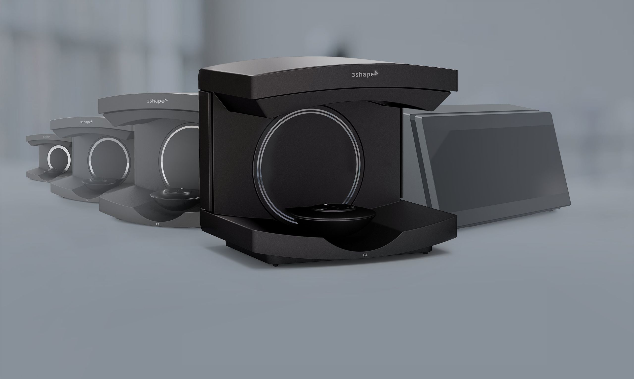 3shape lab scanners and all-in-one scanner