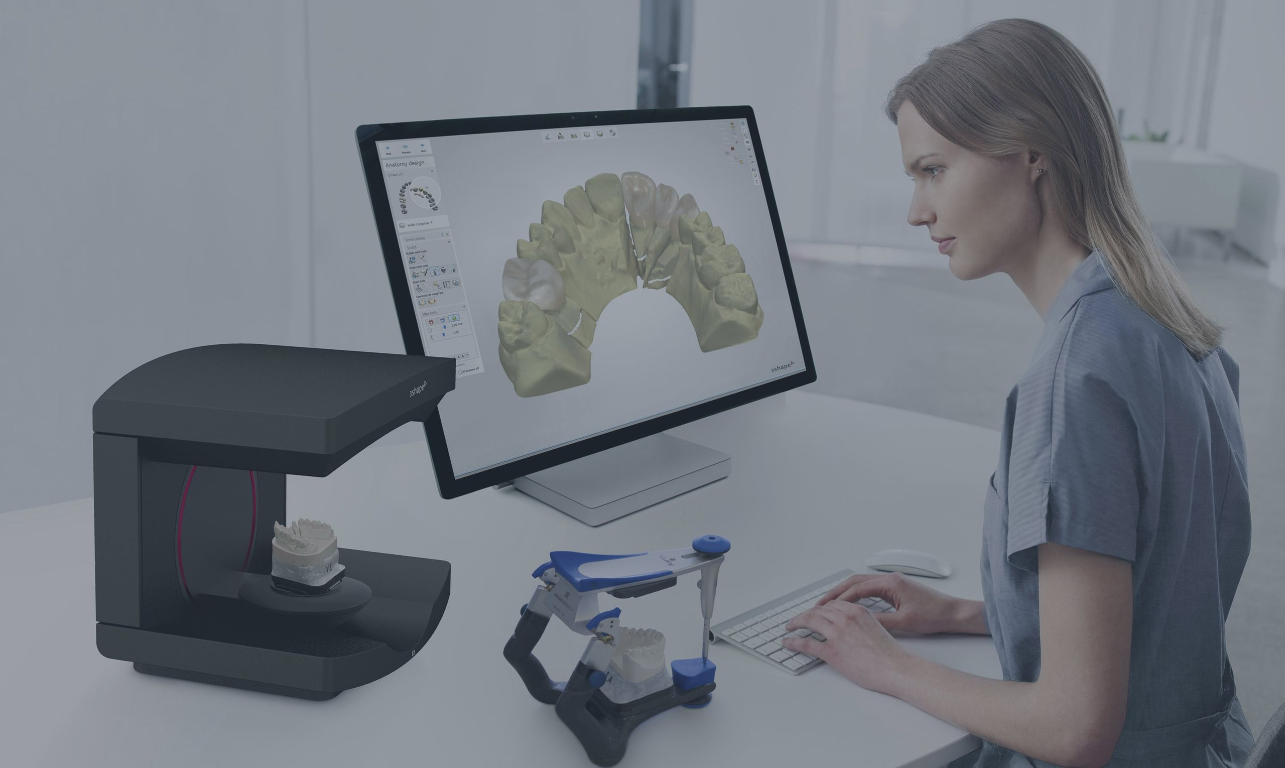 digital dental lab 3Shape