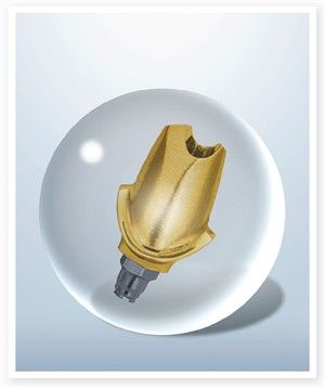 crystal ball abutment