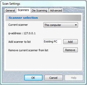 scan settings