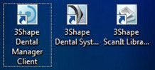 Dental Manager Client shotrcuts