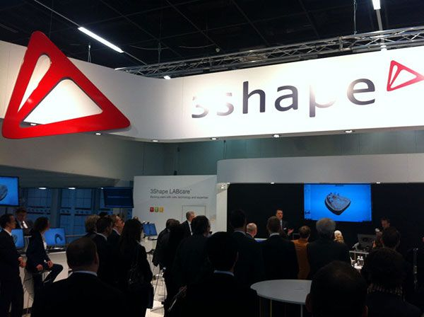 3Shape IDS booth