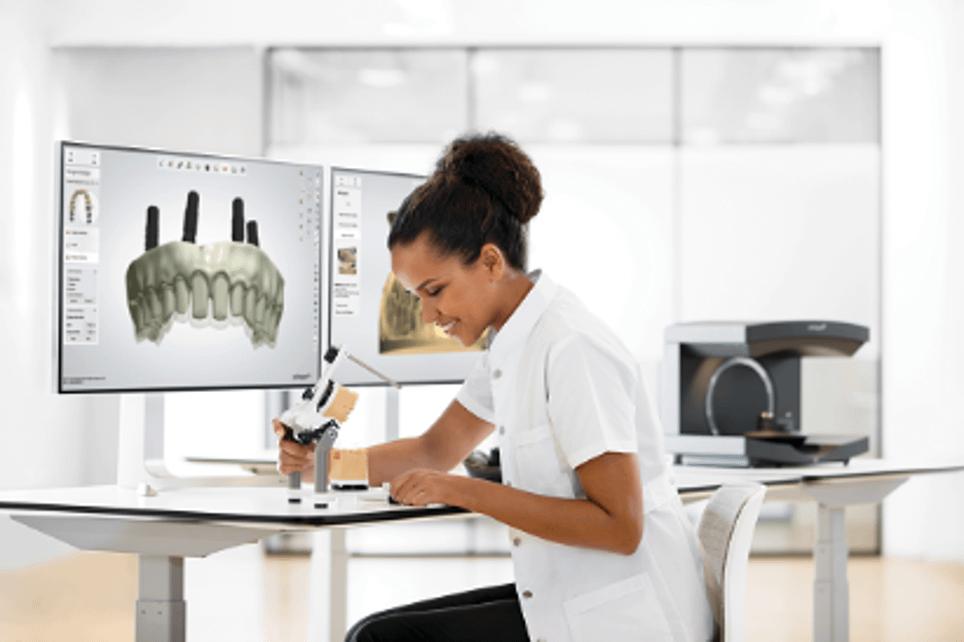 Denture design workflow