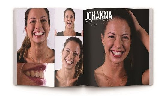 a coffee table book for dental practices called Fabulous Smiles