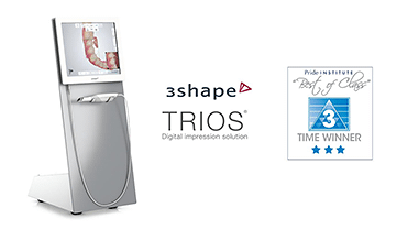 TRIOS Best of Class intraoral scanner