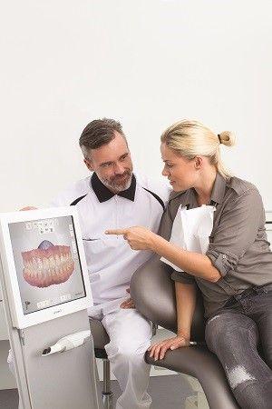 3Shape intraoral scanner impression
