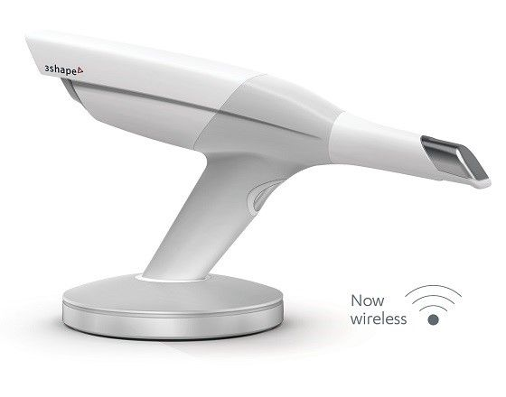 TRIOS wireless intraoral scanner