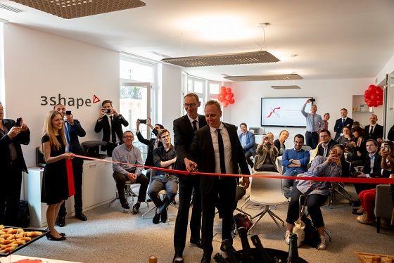 Ouverture d'un nouveau bureau 3hape en France
