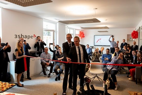 3hape new office opening in France