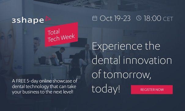 3Shape Total Tech Week online showcase