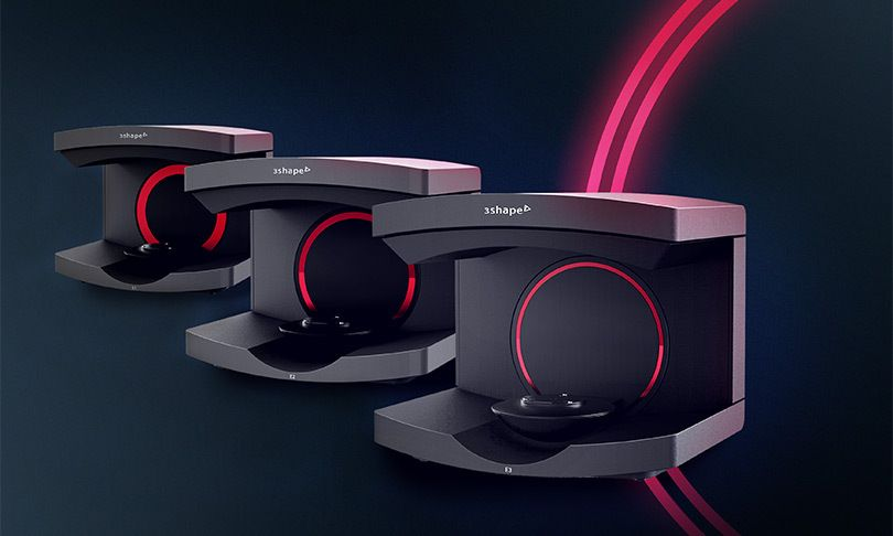 3Shape Generation Red E scanners