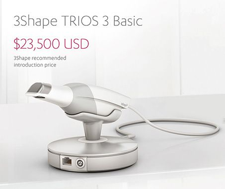 3Shape launches entry-level TRIOS 3 Basic intraoral scanner