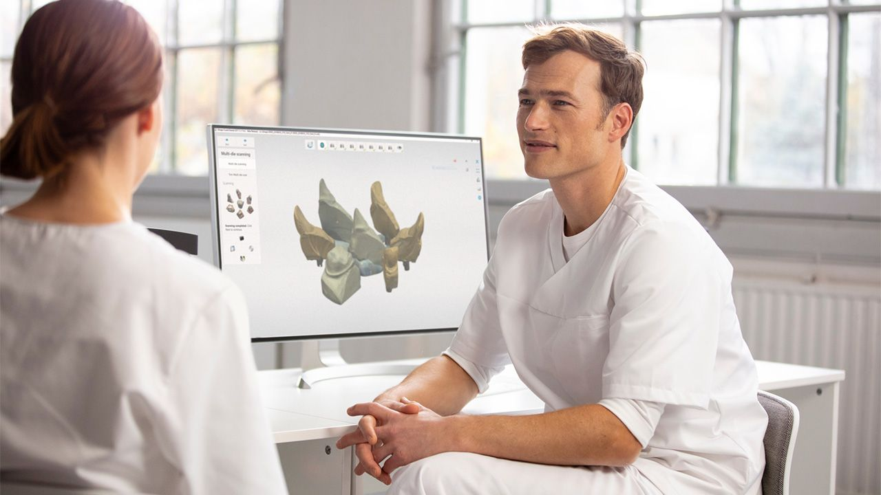 dentists and orthodontists use TRIOS scanners