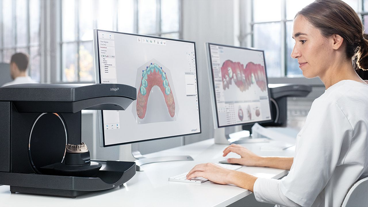 3Shape TRIOS orthodontics and E4 lab scanner